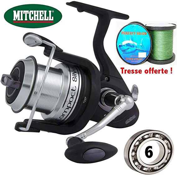 Mitchell – Spinning Surf/dique Mitchell Compact Silver LC 800 + ...