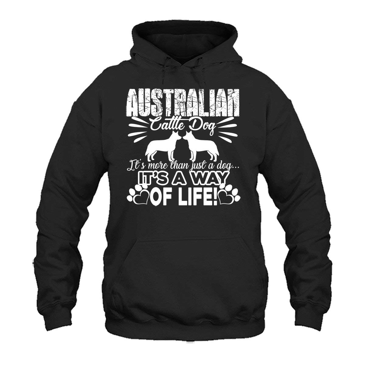Long Sleeve Shirt Two Camel Australian Cattle Dog Its A Way of Life Tee Shirt