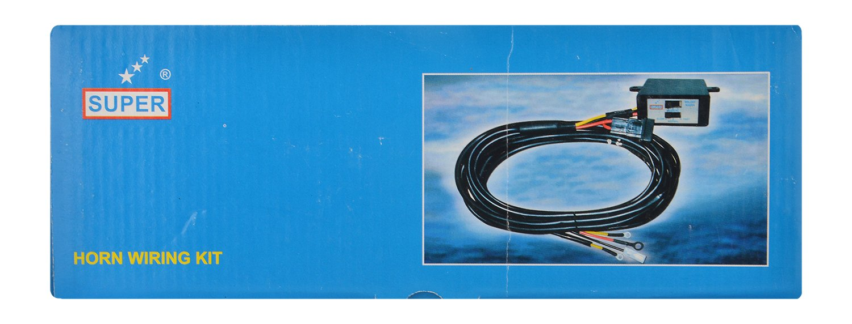 Super 1407 Horn Wiring Kit With 3 Melody Makers 12v Maker Diagram Car Motorbike