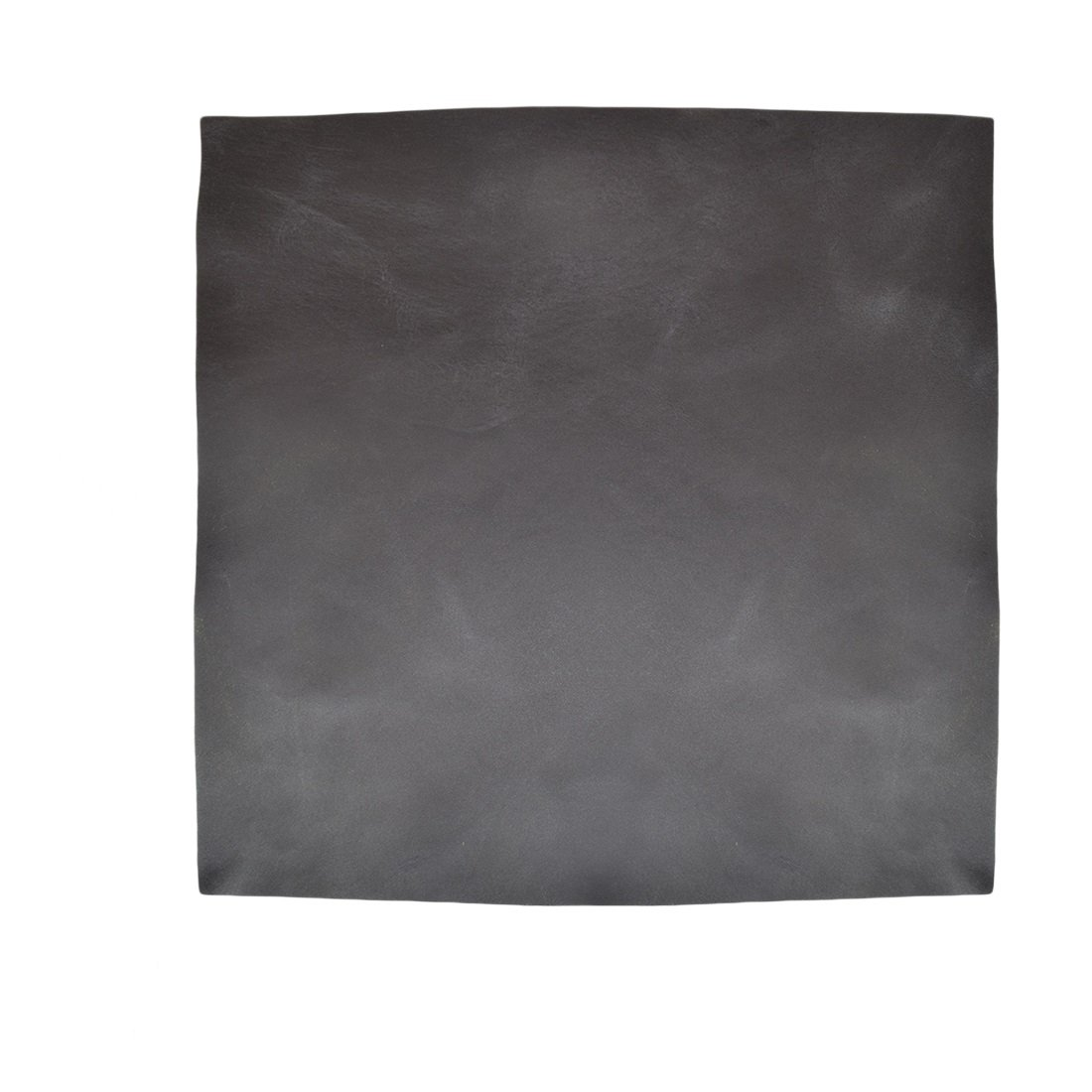 Leather Square (12x12) for Crafts/Tooling/Hobby Workshop, Medium Weight (1.8mm) by Hide & Drink :: Charcoal Black