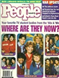 * WHERE ARE THEY NOW? * The Facts of Life / Saved By the Bell / 21 Jump Street / Fame / Square Pegs - October 22, 2001 People Weekly Magazine