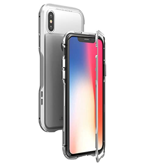brand new 31d75 b4490 Amazon.com: for iPhone X Case.MACBOU Fashion Magnetic Adsorption ...