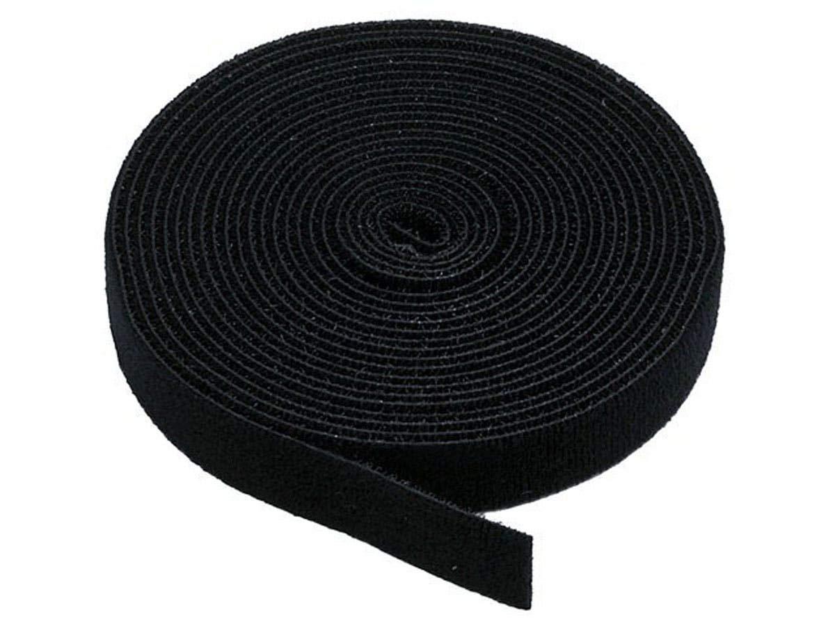 VELCRO 1804-OW-PB//B Black Nylon Onewrap Velcro Strap 1 Wide Hook and Loop 10 Length 1 Wide 10/' Length CS Hyde Company Inc 1804-OW-PB//B-10