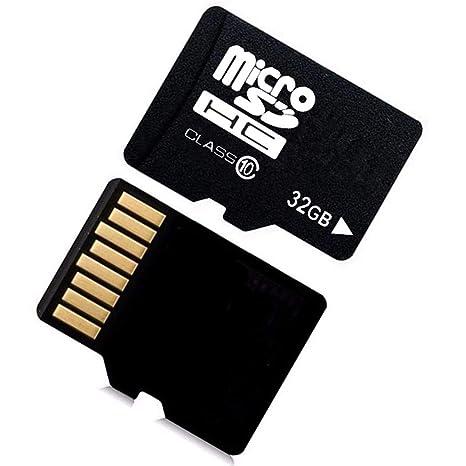 Tarjeta de Memoria TF 32G Tarjeta Micro SD de Alta Velocidad con Adaptador