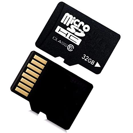 ADOSOUL 32G MicroSD Cards 10 High Speed Memory TF Card with Adapter Mobile Phone MicroSD Cards