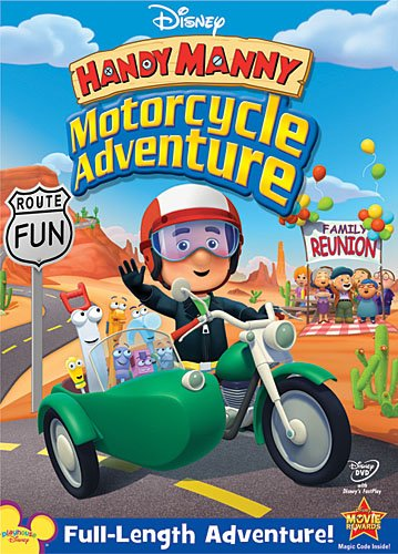 Handy Manny – Motorcycle Adventure