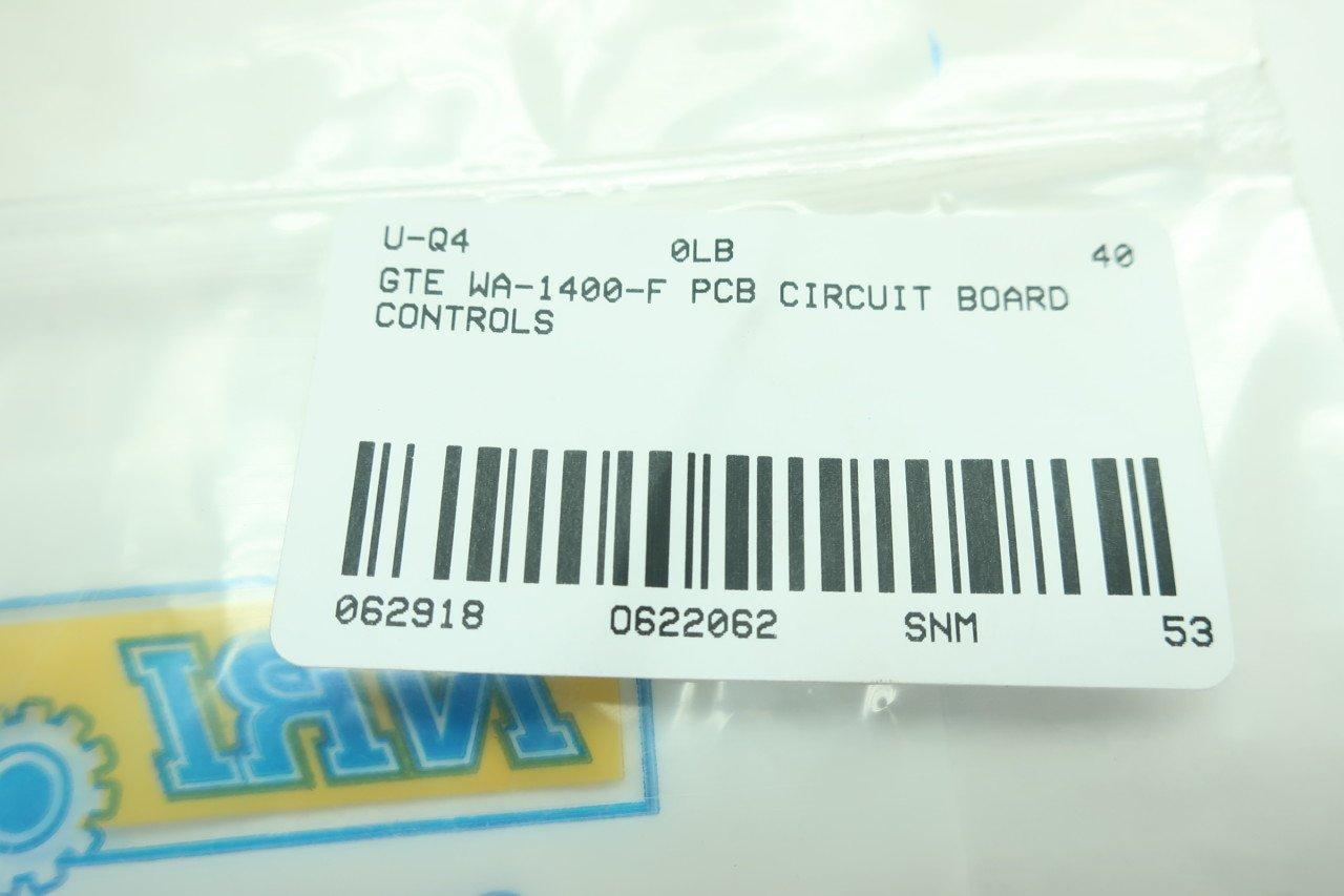 Gte Wa 1400 F Pcb Circuit Board D622062 Industrial Blue Label Scientific