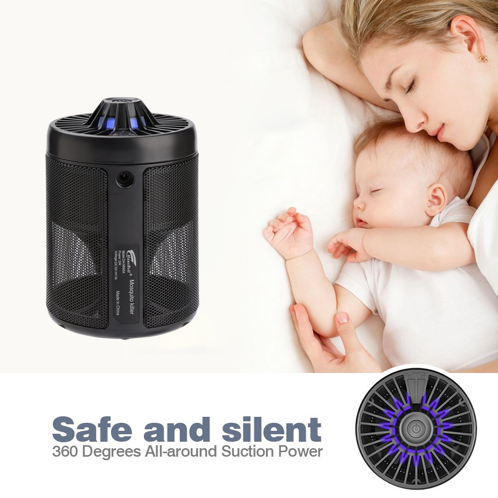 Mosquito Killer,Bug Zapper,HAUSBELL Mosquito Trap Nontoxic USB Powered Mosquito Killer Lamp Bug Control Inhaler, UL Listed