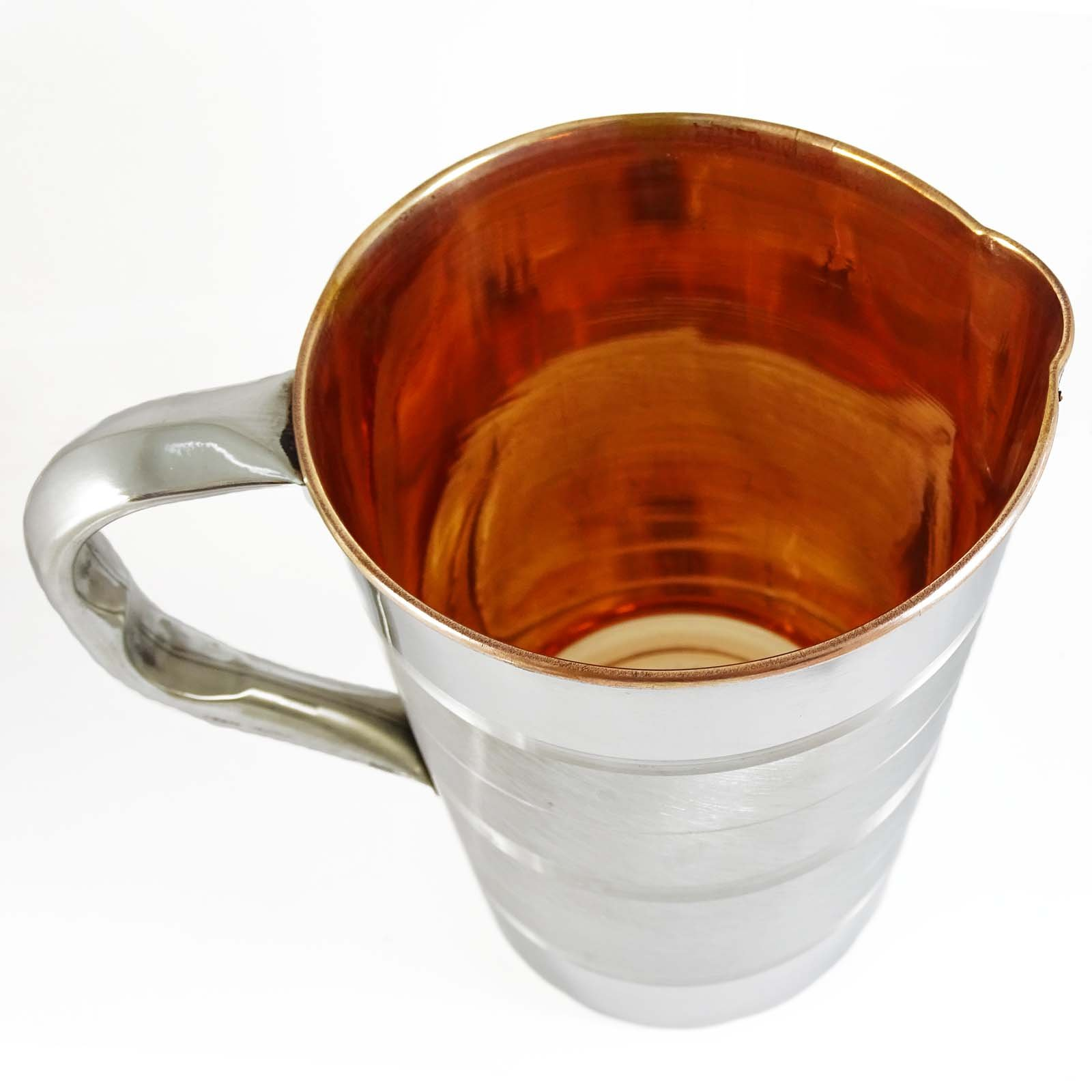 ibaexports Tableware Traditional Serving Ayurvedic Copper Steel Kitchenware Water Jug by ibaexports (Image #2)