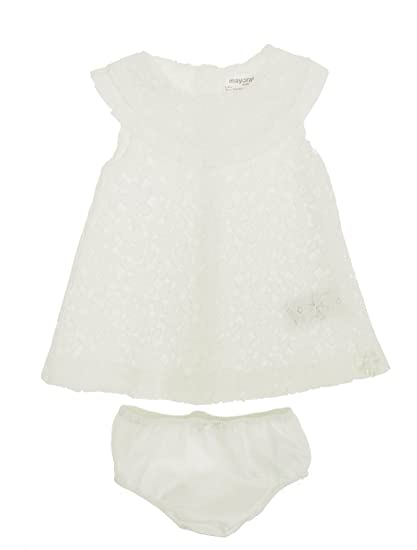 Mayoral 28-01842-015 - Embroidered Dress for Baby-Girls 6-9