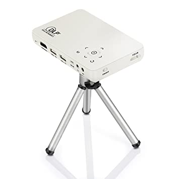 Vivibright Proyector, DLP gp1s lámpara LED 1080P Funda para ...