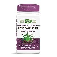 Nature's Way Saw Palmetto, 160 mg per serving, 60 Softgels