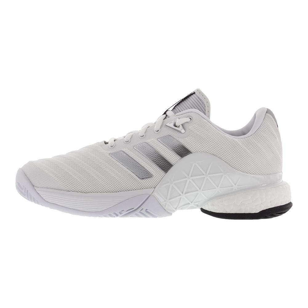 brand new 64c94 e6eda Zapatillas adidas Barricade 2018 Boost Shoe para hombre Blanco   Core Black    White