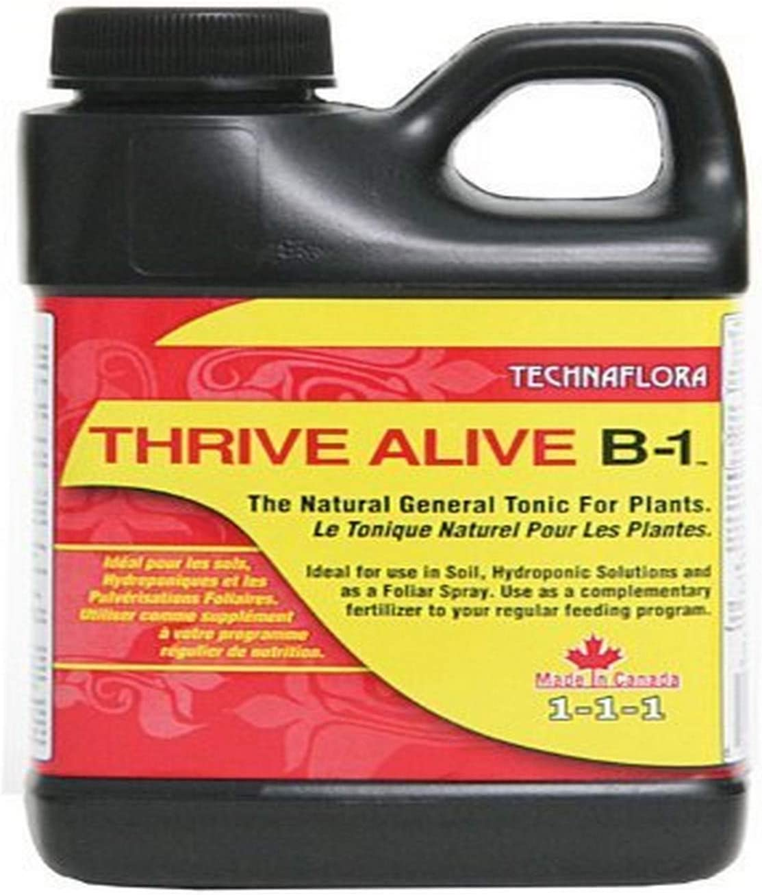 Technaflora 720605 Fertilizer, 0.25 Liter, Red