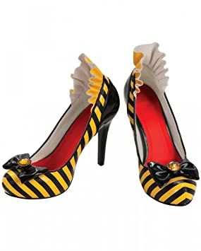 Horror-Shop Abejas zapatos con arco 37
