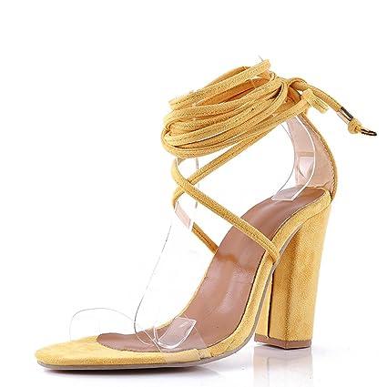 Genepeg - Sandalias de PVC para Mujer 4fe6e057c27e