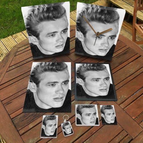 Actors JAMES DEAN Original Art Coaster #js001 by Coasters