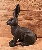 Cast Iron Bunny Door Stop 8 1/4'' by 9 1/4'' tall Home & Garden Decor 0184S-0086 by YourLuckyDecor