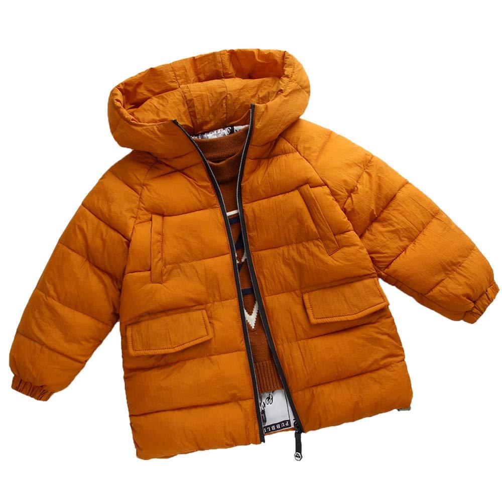 Wenini Fashion Kids Coat Jacket Boys Girls Thick Coat Padded Winter Jacket Clothes