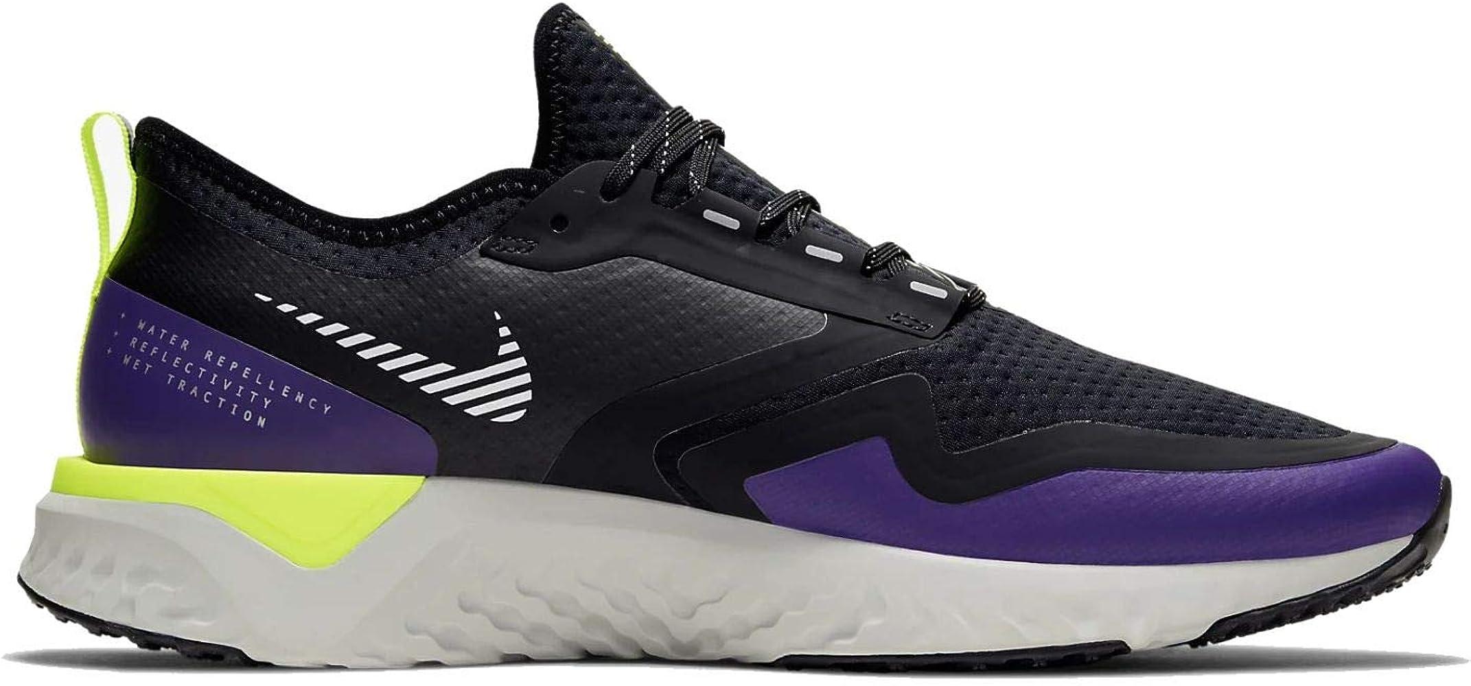 Nike Odyssey React 2 S, Zapatillas de Correr por Carretera. para Hombre, Voltage Negro metálico Plateado, 42 EU: Amazon.es: Zapatos y complementos