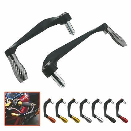 100% aluminio freno embrague palanca protectores mano protector para motocicleta carreras moto suciedad protectores de mano 22mm