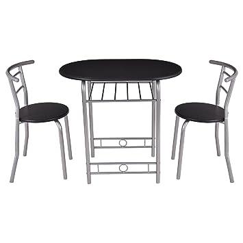Essgruppe Küchenbar Küchentisch Sitzgruppe Balkonset mit 2 Stühlen ...