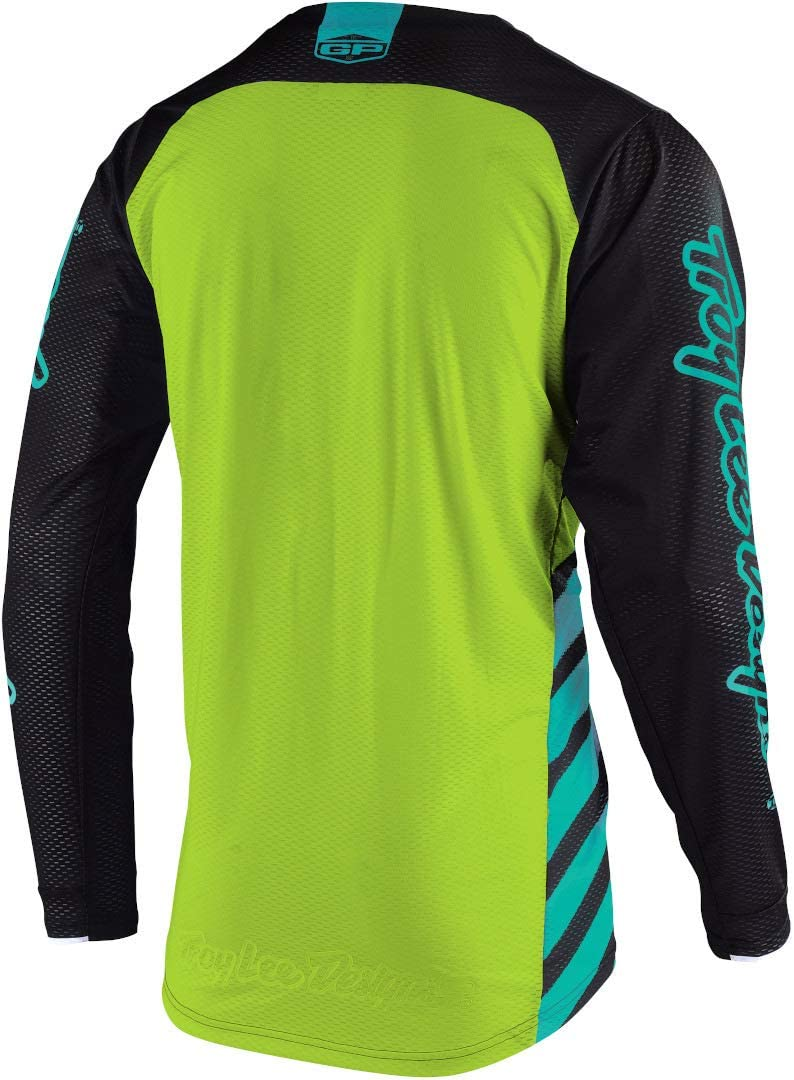 Large Black//Turquoise Troy Lee Designs 2020 Youth GP Air Jersey Drift