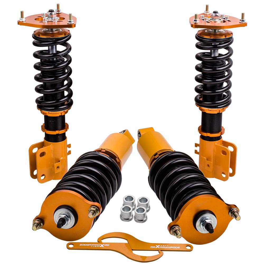 Height Shocks Struts Coil Overs for Subaru Legacy GT Sedan 4-Door 1999 2000 2001 2002 2003 2004 Coilovers Adj
