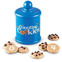 Learning Resources Smart Counting Cookies, Counting, Sorting, 13 Piece Set, Ages 2+