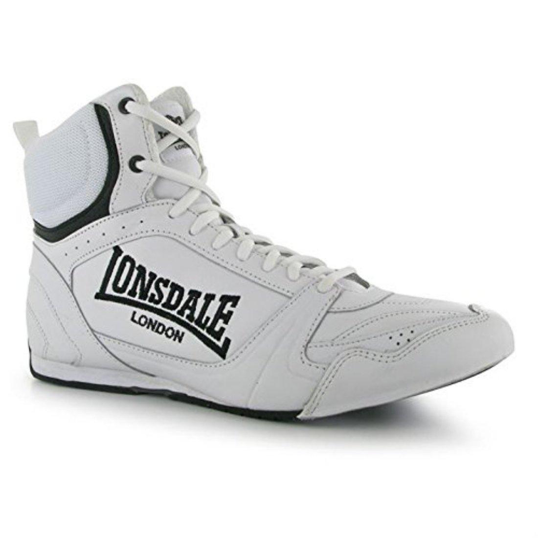 Amazon.com: Lonsdale para Hombre Botas de Boxeo ...