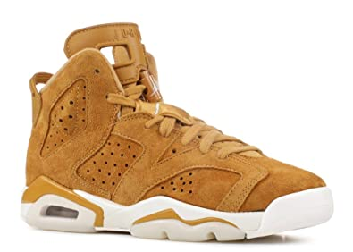 cheap for discount ea769 7eca1 Nike Boys Jordan Air Retro 6 Golden Harvest G.s Big Kids Youth Wheat  384665-705