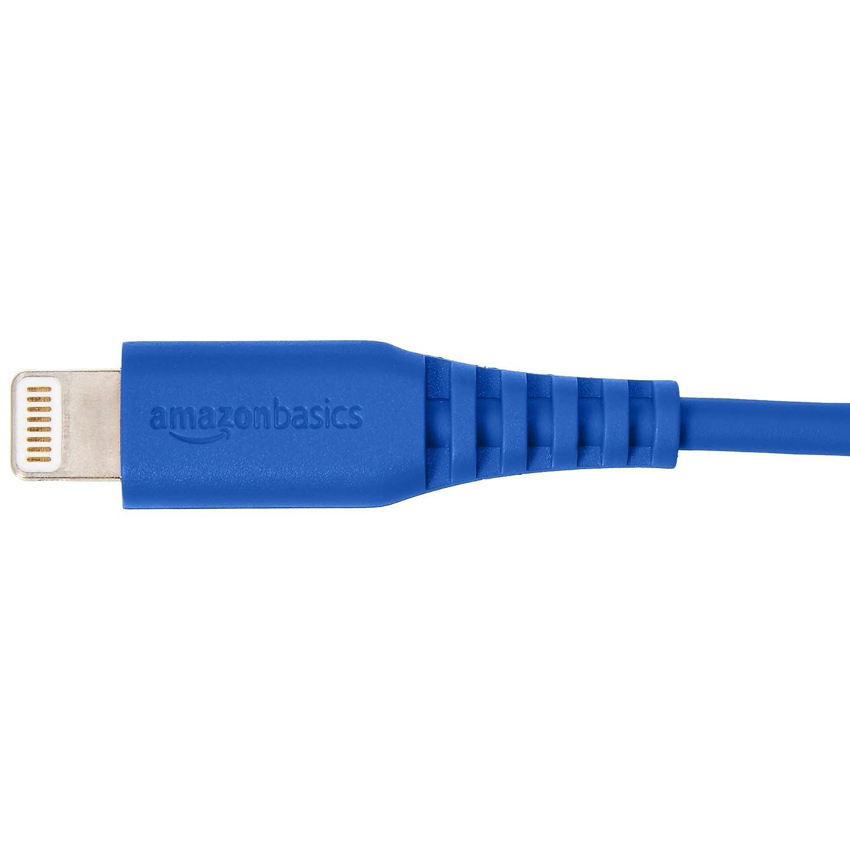 3 m Certificato Apple MFi Cavo compatibile da USB A a Lightning Azzuro Basics