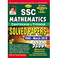 KiranGÇÖs SSC Mathematics Chapterwise & Typewise Solved Papers 1999 March 2018 English - 2216