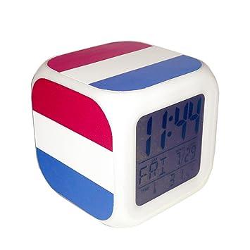 Boyan LED Alarma Reloj Holland Países Bajos Bandera Nacional ...