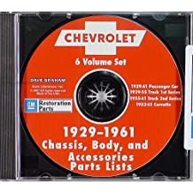1929-1942 Chevrolet Illustrated Parts Book CD-ROM