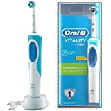 Oral-B D12 Vitality Cross Action Clam Shell Rechargeable Toothbrush