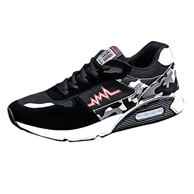 68c8c4d28eb5a Amazon.com: Fashion Running Sneakers for Men, SFE Mens Mesh Beathing ...