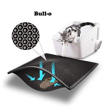 Amazon.com: Alfombrilla para arena de gato Bull-o, tamaño ...