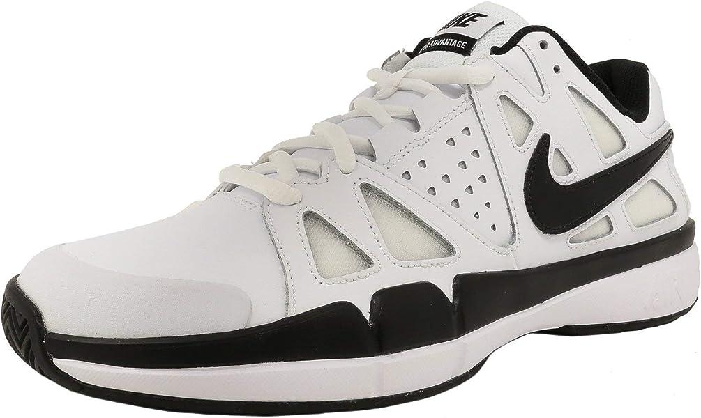 best service bad7e 0a1b5 Nike Air Vapor Advantage Leather, Zapatillas de Tenis para Hombre, Blanco  (White