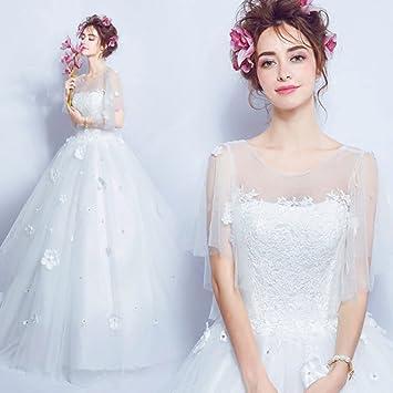 Vestidos De Novia De La Novia De La Princesa De Lujo Sin Mangas Vestidos De Una