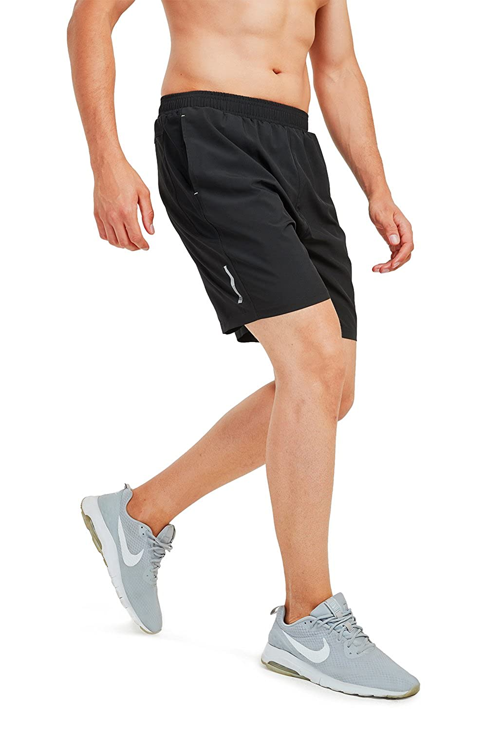 3b919364fd 7\ Safort Running Running Running Shorts(3 5 7 ) for Man, Two Pockets,  Quick Dry, Breathable, Active Shorts for Gym, Workout, Training adff85