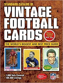 Book Standard Catalog of Vintage Football Cards by Editors of Krause Publications (2012)