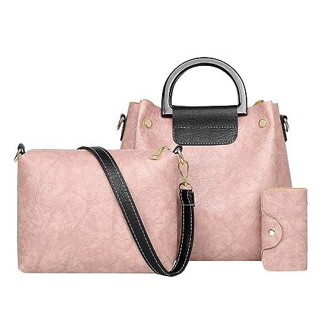 Conjuntos de bolsas de 3 piezas Bolsos de cuero suave de las ...