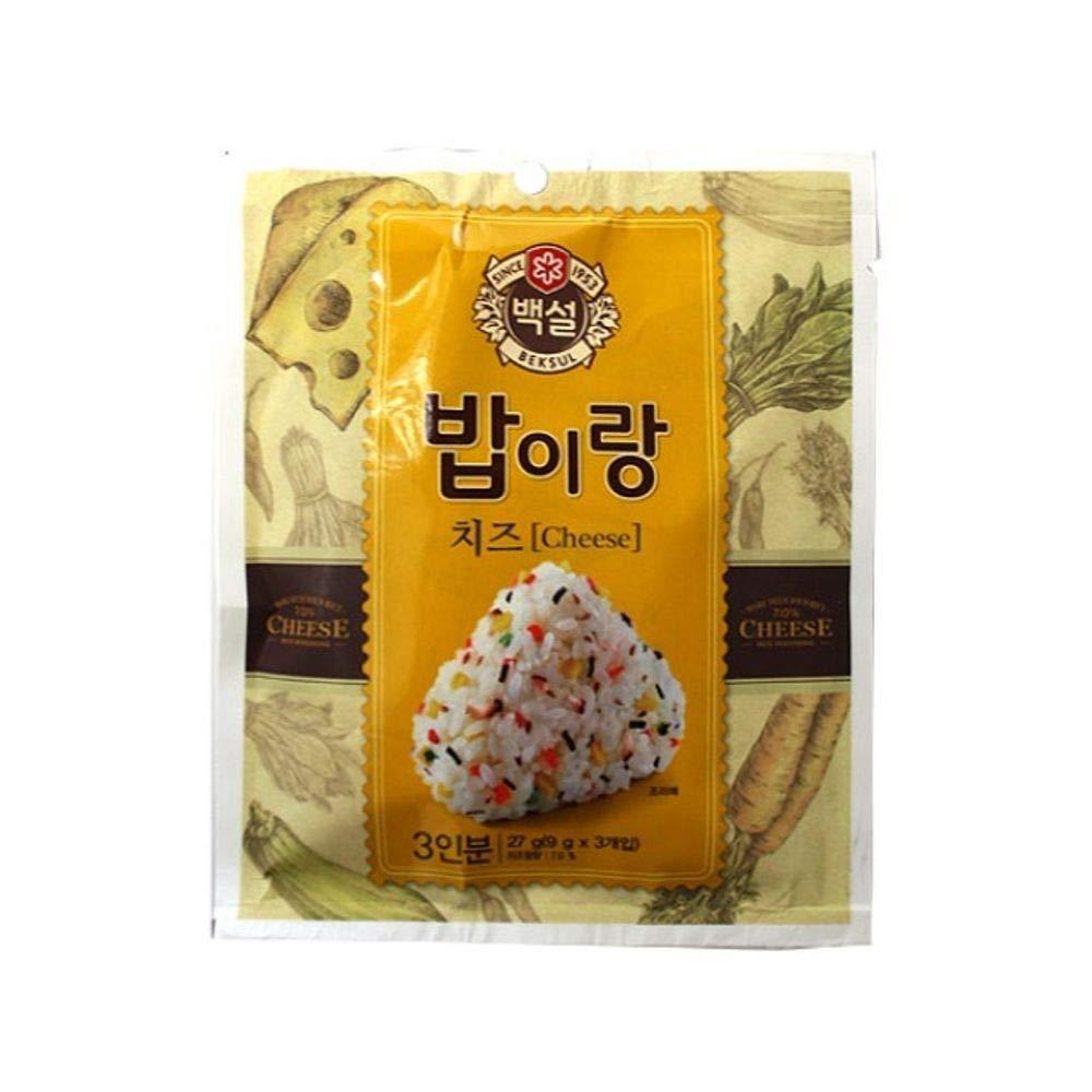 CJ Beksul Rice Furikake (Cheese) 9g x 3 (27g)