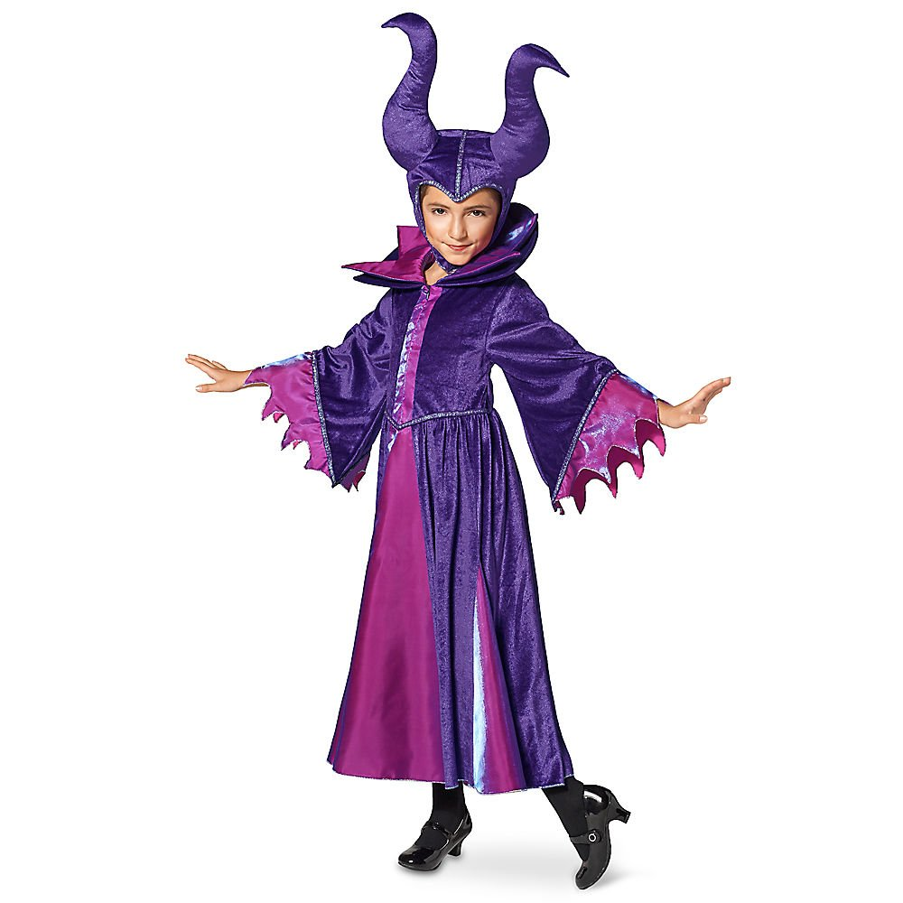 Disney Maleficent Costume for Kids Size 5/6 Black