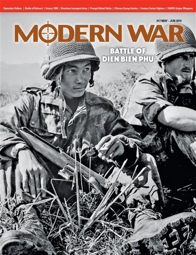 DG: Modern Wars Magazine #17, with Dien Bien Phu Board Game by Decision Games Modern War Magazine (Dien Bien Phu Board Game)