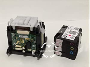 New Original Printhead with Ink Cartridge Compatible for HP933 HP7510 7612 6600 6700 7110 7610