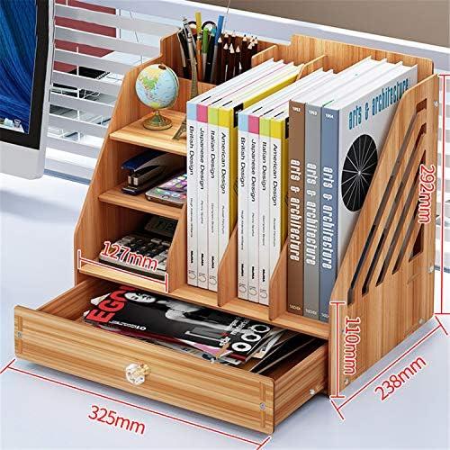 Kangsur Desktop Kosmetik Lagerschrank Büro Werkzeugkasten Hölzern DIY Multifunktional Aufbewahrungskiste H01-5