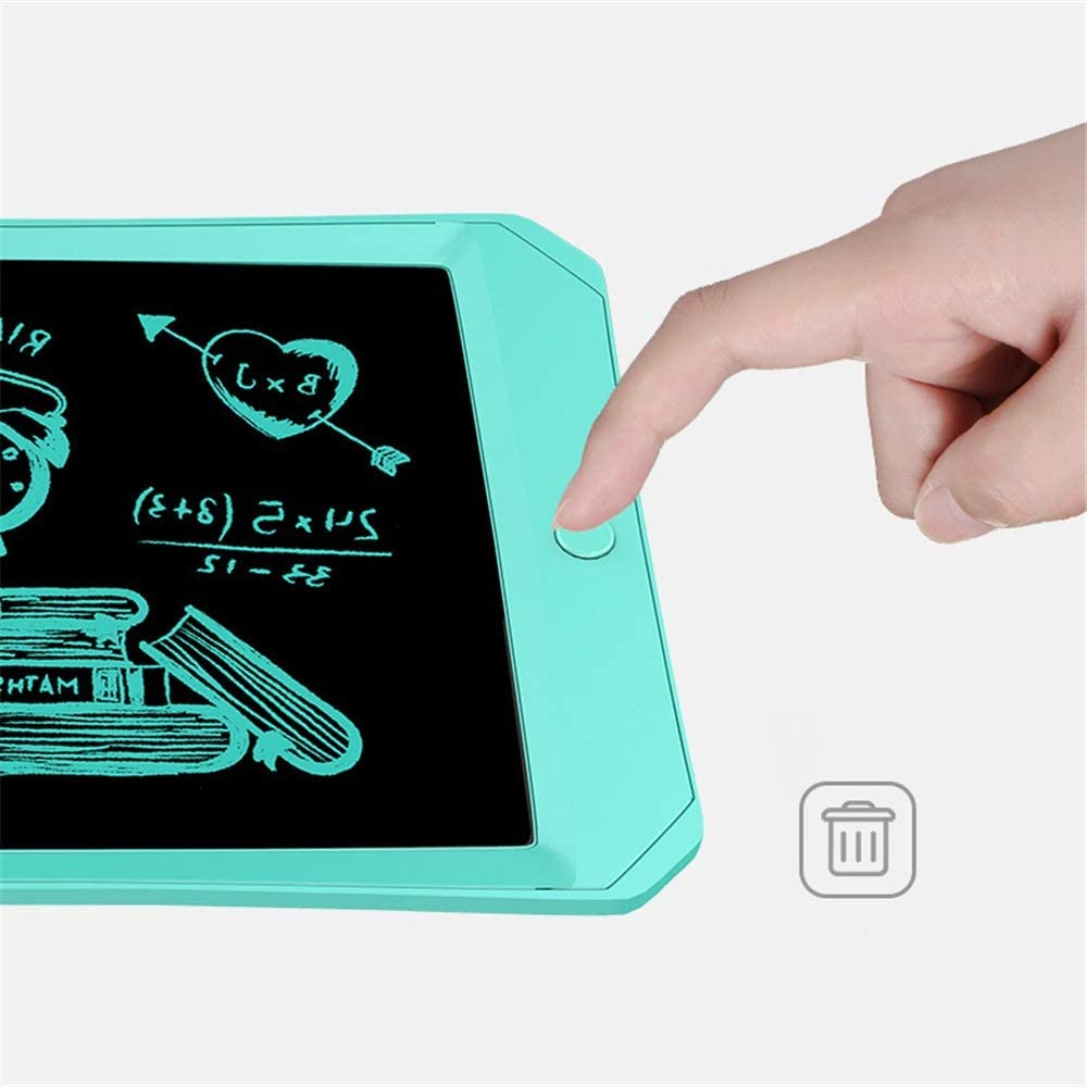 LCD Tablet 11 Inch Macaron Color Writing Tablet Teach Childrens Drawing Board LCD Screen Writing LCD Writing Tablet Board Color : Blue, Size : 11 inches