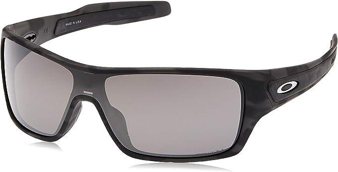 Oakley Turbine Rotor Gafas de sol, Negro, 1 para Hombre